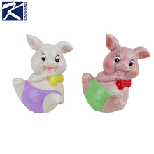 Kinsheng high quality pig ceramic art hobby crafts home decor