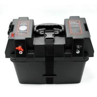Trolling Motor Smart Battery Box Power Center with USB and DC Ports