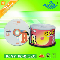 Trustworthy recording quality blank media cd dvd disc