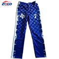 2019 new style custom sublimation printing youth baseball pants
