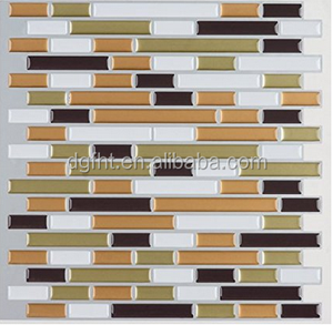 Professional peel and stick epoxy wall tiles for backsplash mosaic