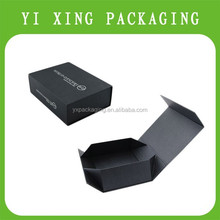 hot seller long electronic products box for hair extension packaging with magnetic closure