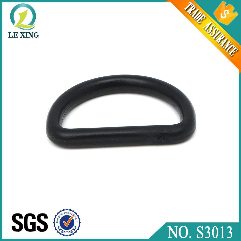 Hot sale fashion plastic belt buckle d ring for bag with factory price