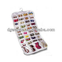 large plastic 80 pocket hanging jewelry organizer