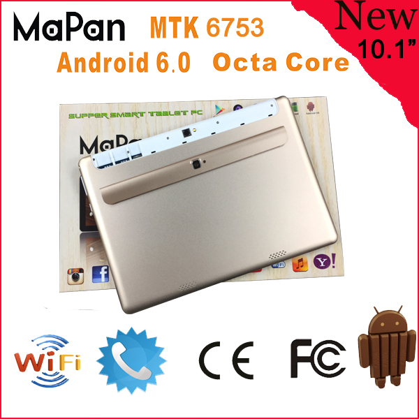 MaPan 1.5GHZ Android 6.0 4G phone call function 10-inch Support 64GB TF Card RAM 2G F10B Tablet PC
