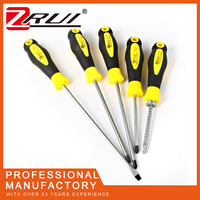 wholesale multifunction TPR magnetic screwdriver crv slotted screwdriver bits hand tools set professional