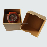 CE Approved natural maple wood watch