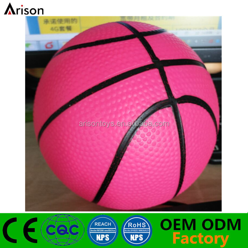 Factory PVC one-time forming basketball toy inflatable silicone ball inflatable small rubber ball with needle valve
