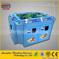 High return Wangdong Double Dragon fish hunter arcade game machine, Mermaid and Monster catching fish shooting fish arcade game