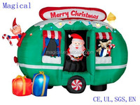 Santa RV Camper Travel Trailer Christmas Inflatable