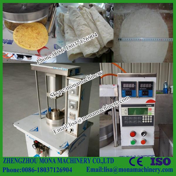 Halal food automatic tortilla press machine roasted duck for Food bar press machine