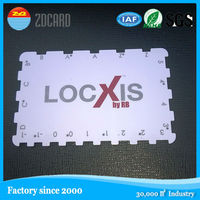 China factory supply! custom PVC die cut card