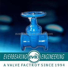 Long Metal Tire Seated Gate Valve Non Rising Stem Made In China