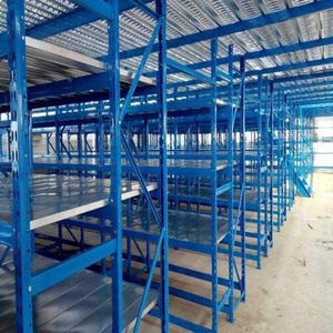 Customized quality colorful long span storage rack