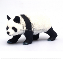 Stuffed Panda Zoo Animal Plastic Toys/Wholesale Realistic Wild animal Figurines toy/Customize PVC animal models