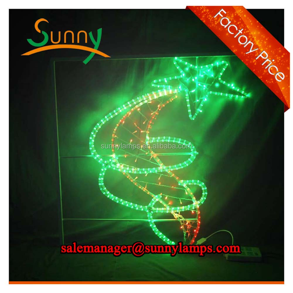 Led Street Motif Light/christmas Pole Mounted Light Decoration