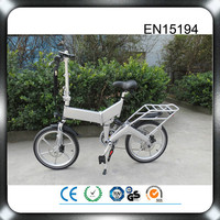 CE PAS system germany adult 36V 250W high speed hub brushless motor folding electric bicycle