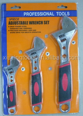 TOP QS-002 adjustable wrench ( CRV steel)