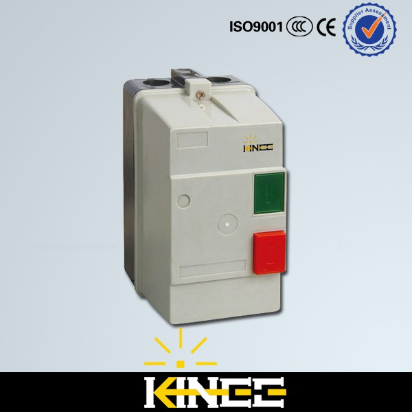 LE1-D09 9A 3 Phase Motor AC 220V230V Standard Power Electric Magnetic Starter With Plastic body