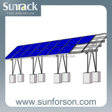 mounting structures for solar pv power plant