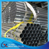 Q235 Hot dipped galvanized steel pipe/electrical wire conduit hot galvanized steel pipe