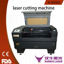 table K-9060 co2 laser cutting and engraving machine for leather fabric