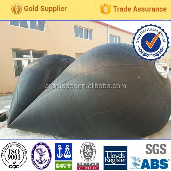 high quality rubber fender shipped without air dock fender