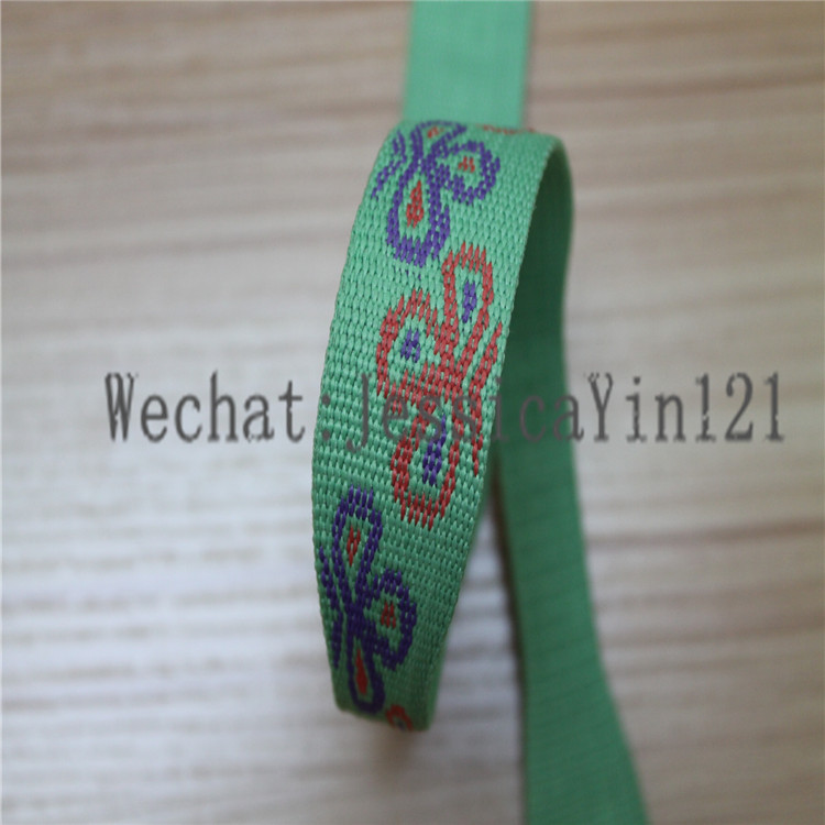 BSD Neon jacquard Variable Webbing gift ribbon used variable capacitors for sale phone pole webbing