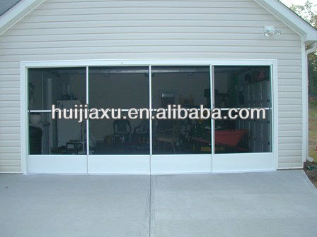 garage sliding screen door glass garage doors in guangzhou factory