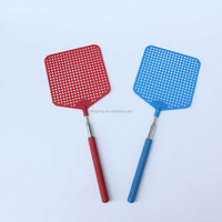 Big Size Hot Sale Stainless Steel Extendable Fly Swatter,Telescopic Mosquito killer, Telescopic Fly Swatter