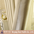 One Side Bright Polyester Plain Blackout China Curtain Fabric