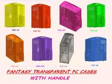 Transparent Handle PC Case