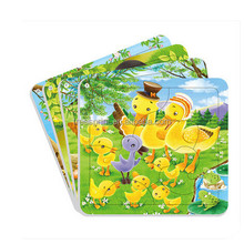 Custom cheap price Kids puzzle game educational children toys paper jigsaw puzzle