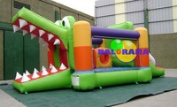 crocodile inflatable playground, mini bouncer for sale, inflatable bouncer manufacturer