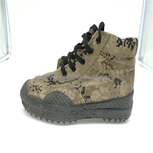 New Factory Army Safety Shoe Woodland Boots Shoes/Outdoor Camouflage Shoes