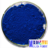 colourful blue permanent makeup pigment