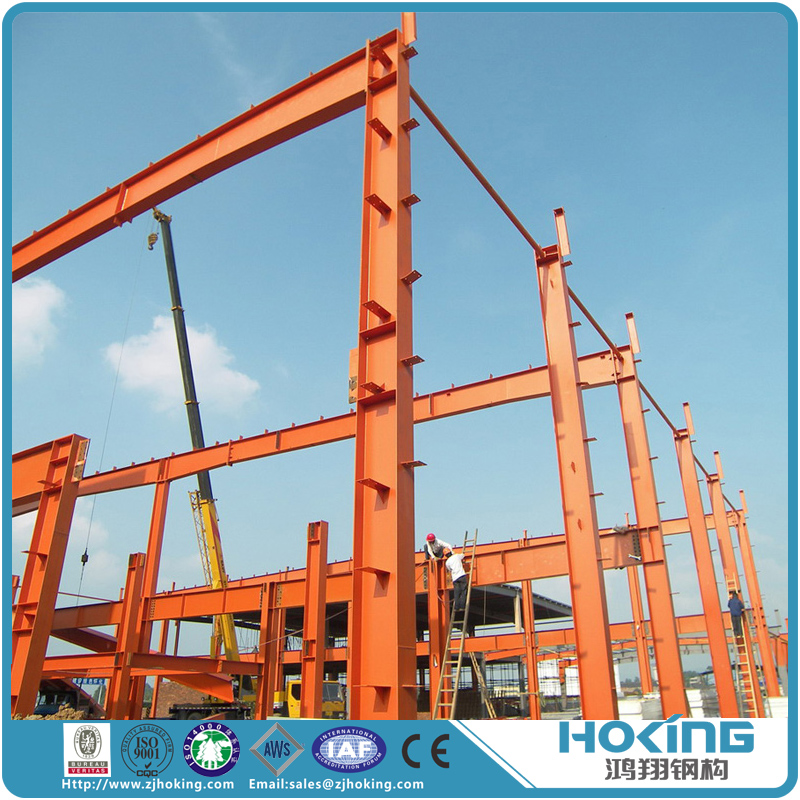 Economic and Easy to Install Steel Structure Factory House Building