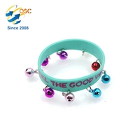 Fashion Kids Small Bell Silicone Bracelet