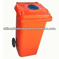 Recycling Bottle Bin with rubber stopper, stainless steel pin and locks