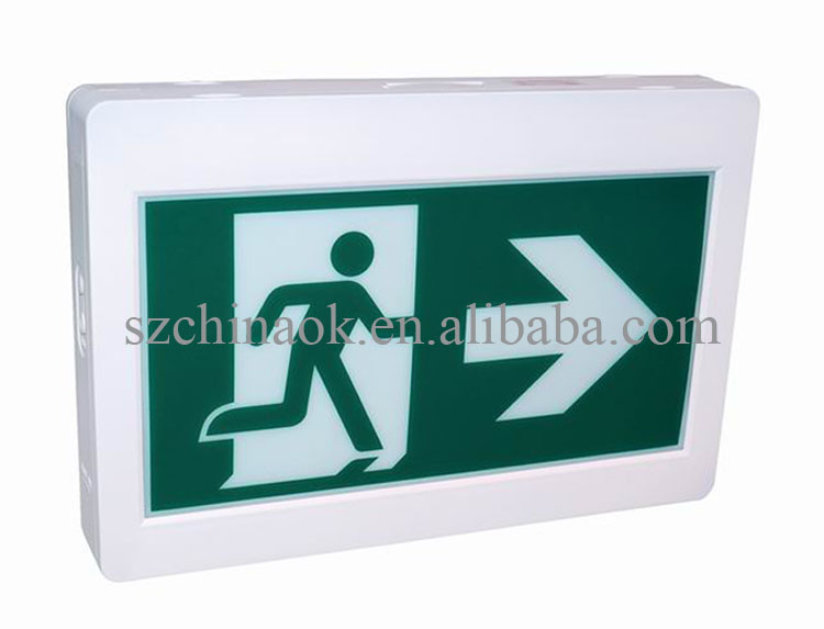 CET-100 Universal Mounting CUL CSA Running Man LED Emergency Exit Sign