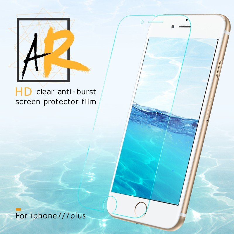 ITOP Japanese AR Clear Raw Material Screen Protector For Iphone7 Freefron Screen Protector