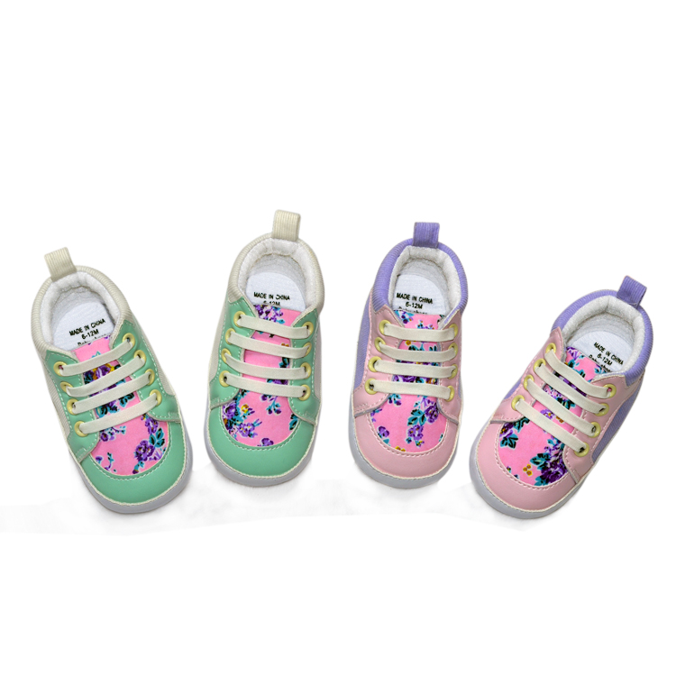 Wholesale Newborn Baby Shoes,Soft And Colorful Baby Booties G17333