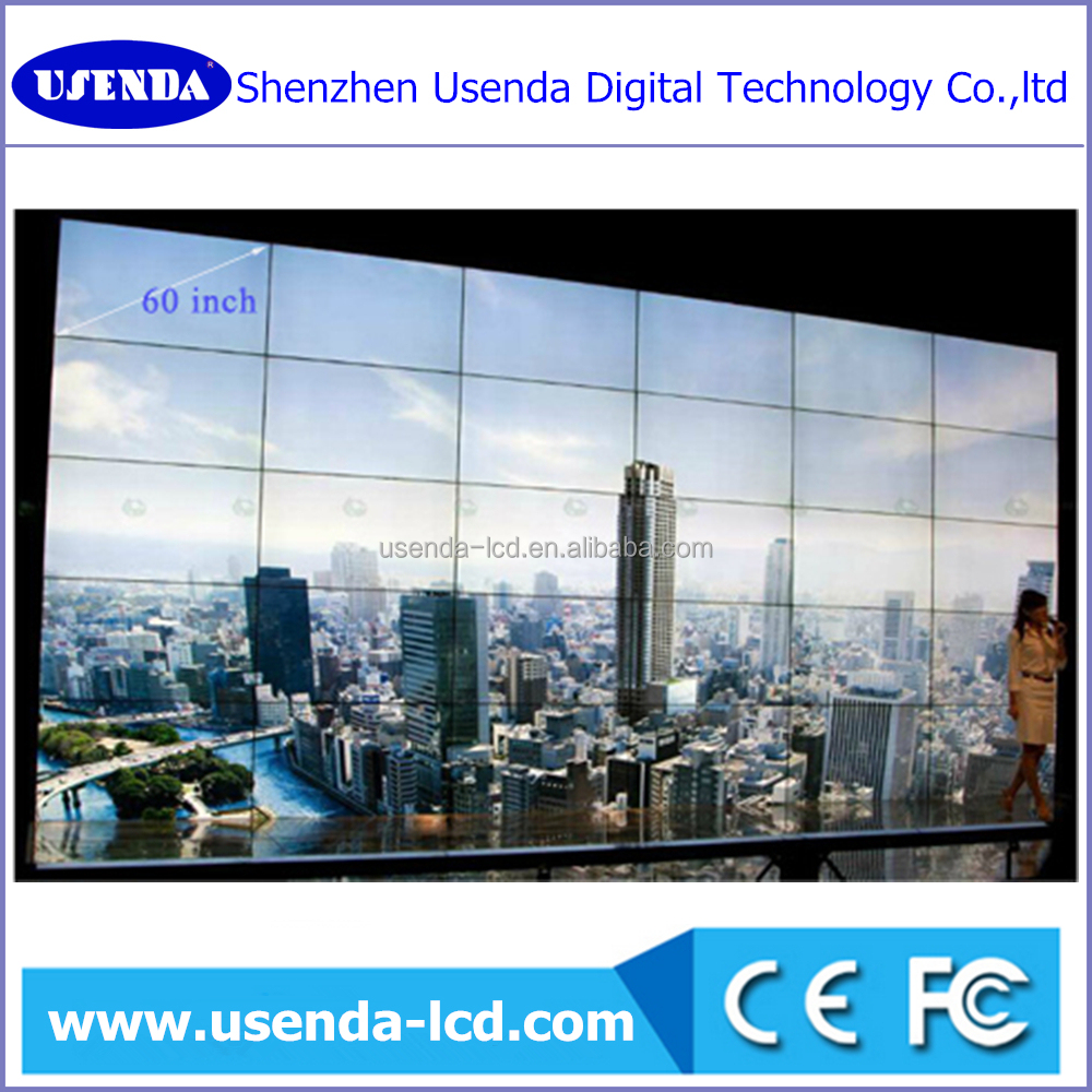 Vender proof CCTV system small 5*6 digital display screen oem 55inch screen lcd display