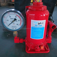 hydraulic jacks with gauge meter