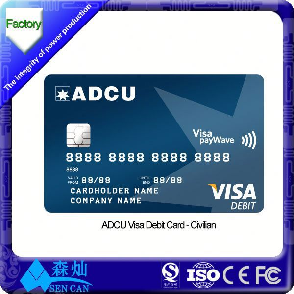 Dual Interface Card , Combo Smart Card with contact and contactless chip