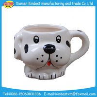 breakfast mug 3D cartoon customized size and color ceramic milk cup for kids