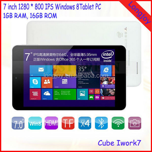 Win8 Tablet, 7inch Windows Tablet PC