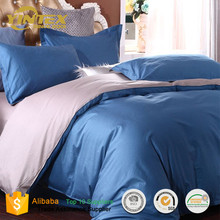 High Quality Home Hotel Use Bedding Set 100% Cotton Fabric Bed Sheet Set