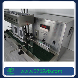 Continuous band aluminium foil induction sealer