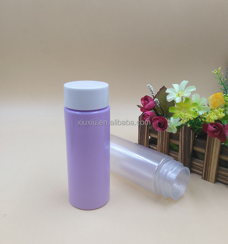 47mm neck finish columnar plastic bottle 220ml